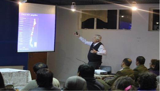 Exposición de Heinrich von Baer, Presidente de la Fundación Chile Descentralizado, en Gira por Aysén